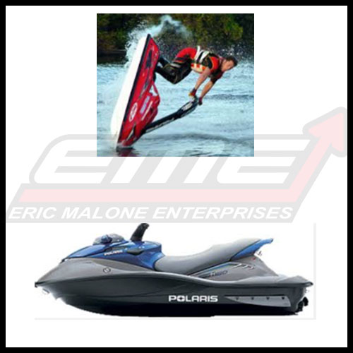 "Hydro-Turf Kick Pad 1/"" x 5.5/"" x 17/"" Kick Tail Sea Doo Kawasaki Yamaha"